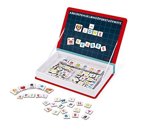 Janod J02713 Magneti'Book Alphabet Lernspielzeug, Deutsch
