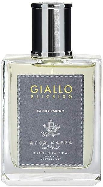 ironía Bigote Inducir  Acca Kappa Giallo Elicriso Eau de Parfum, 100 ml: Amazon.co.uk: Luxury  Beauty