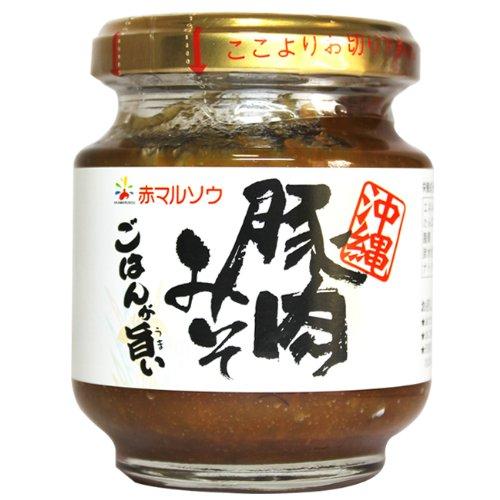 沖縄油みそ 赤マルソウ豚肉みそ140g×6個