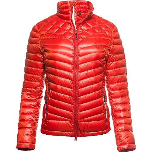 YETI Meed W's Microchamber Down Jacket - Daunenjacke Damen, Molten Lava, rot, l