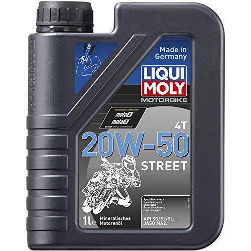 LIQUI MOLY 1500 Motorbike 4T 20W-50 Street 1 l