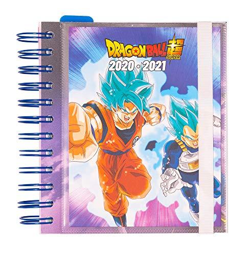 ERIK - Agenda escolar 2020/2021 día página M Dragon Ball, 11 meses (14x16 cm)