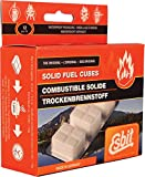 Esbit 1300-Degree Smokeless Solid 14g Fuel Tablets for Backpacking, Camping, and Emergency Prep, 12 Pieces