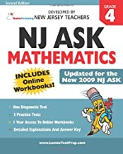 Nj Ask Practice Tests And Online Workbooks: Mathematics Grade 4, Second Edition: Developed By Expert New Jersey Teachers