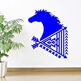 Zaosan Art Living Room Sticker Wall Poster Ethnic Style Arrow Horse Decoration Salon Home Wall Sticker