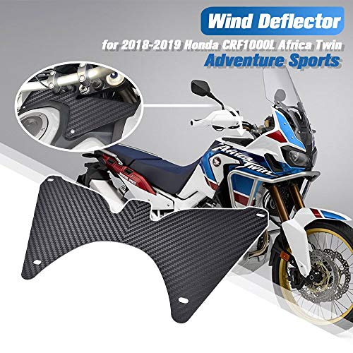 XX eCommerce Motorrad Forkshield Updraft Deflector für H-o-n-d-a CRF1000L Africa Twin Adventure Sports DCT 2018-2019
