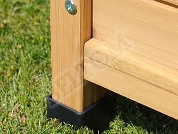 Beltom Niche/Chenil pour Les Chiens en Bois + Porte en PVC Tailles: - Medium