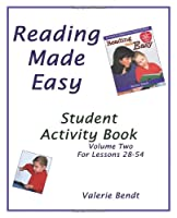 Reading Made Easy Student Activity Book Two: A student workbook for Reading Made Easy 1882514726 Book Cover