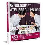 SMARTBOX - Coffret Cadeau Homme, Femme ou Couple - Idée cadeau original : Œnologie et ateliers culinaires pour 1 ou 2 personnes