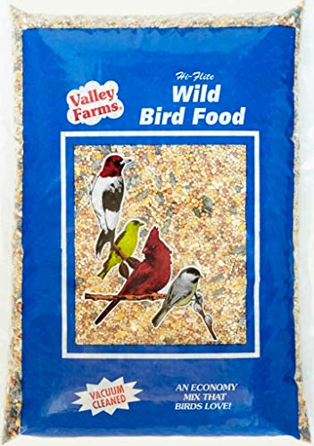 Hi-Flite Wild Bird Food - Best Value Blend for All Species of Birds (20 LBS)