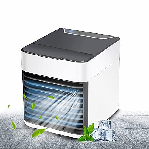 Hou Hexin Trade Tragbare Klimaanlage Mini Tragbare Klimaanlage Tragbare Luftkühler - Luftkühler & Lüfter, Klimaanlage Luftbefeuchter Reiniger 3 in 1 Leckfest