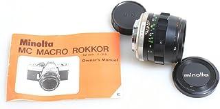 Minolta ミノルタ MC MACRO ROKKOR-QF 50mm F3.5