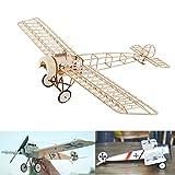 Fokker E.III Slow Flyer Kits de Modélisme, Maquette d'avion avec Bois de Balsa, Échelle 1/20, 450 mm d'envergure des Ailes, Kit modèle RC, 332 x 400 x 122 mm, découpé au Laser, Poids en vol 45 GR