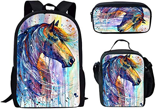 KAPCO Sunflower & Butterfly Art Stylish Pattern 16 Inch Travel Backpack for Boys College Bookbags Shoulder Bag Pencil Cases Lunchbox