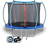 Sena X-Tramp Trampolin Ø 427 cm -TÜV geprüft- Gartentrampolin für 6 Kinder oder 4 Erwachsene,...
