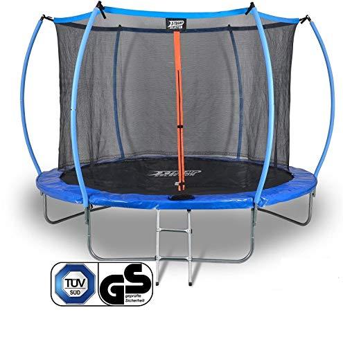 Sena X-Tramp Trampolin Ø 366 cm -TÜV geprüft- Gartentrampolin für 5 Kinder oder 4 Erwachsene, Outdoor / Draussen Hüpf Spielgerät, Garten Jumping