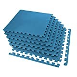IncStores Exercise Tiles 2ft x 2ft Portable Interlocking Foam Tile Mats