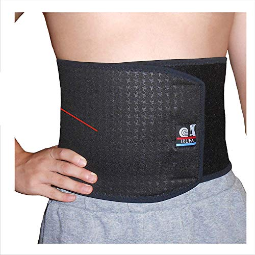 IRUFA,WA-OS-11,3D Breathable Spacer Fabric Waist Trimmer, Body Shaper, Abdominal Binder, Surgical Binder, Chest Binder, Abdominal Support , After C-Section, Abdomen Surgeries, Lower Back Pain