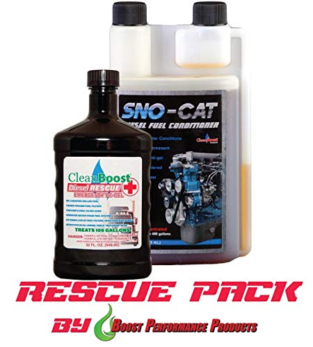 CleanBoost® Diesel Rescue™ 32oz Combo
