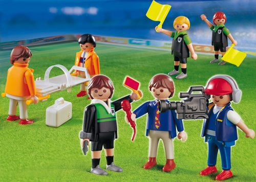 PLAYMOBIL® 4717 - Fußballspiel-Ergänzungsset