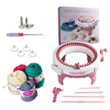 Knitting Machine, 48 Needles Smart Weaving Loom Round Spinning Knitting Machines with Row Counter, Knitting Board...
