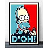 Plakate Und Drucke Die Simpsons Schreien Anime Cartoon