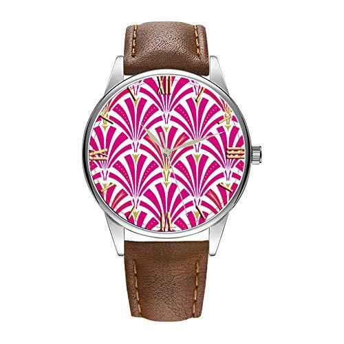 Reloj de hombre de cuarzo marrón Cortex para hombres famoso reloj de...