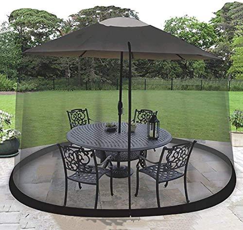 REWD Paraguas Mosquitero Cubierta de la Pantalla, Paraguas Tabla mosquitera Red del Acoplamiento for Cenas - Excluyendo Paraguas y la Fundación