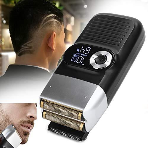 Afeitadora eléctrica, Afeitadora multifuncional de láminas, Durable para hombres Hogar de poco ruido