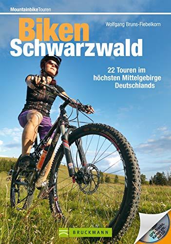 Biken Schwarzwald: 22 MTB Touren rund um Freiburg, Feldberg und Titisee, incl. Höhenprofil und Karten zu jeder Tour (Mountainbiketouren)