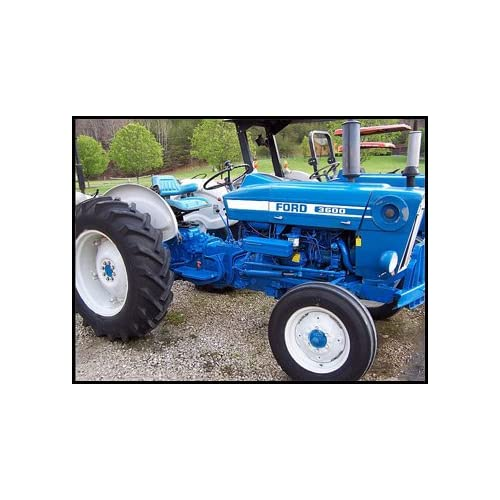 United Ford 3600 Tractor Bonnet complete Fixing Prices According To Quality Of Products