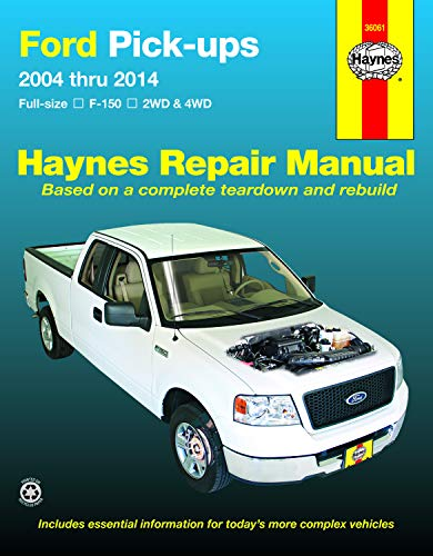 Ford full-size Gas F-150 2WD & 4WD (04-14) Haynes Repair Manual