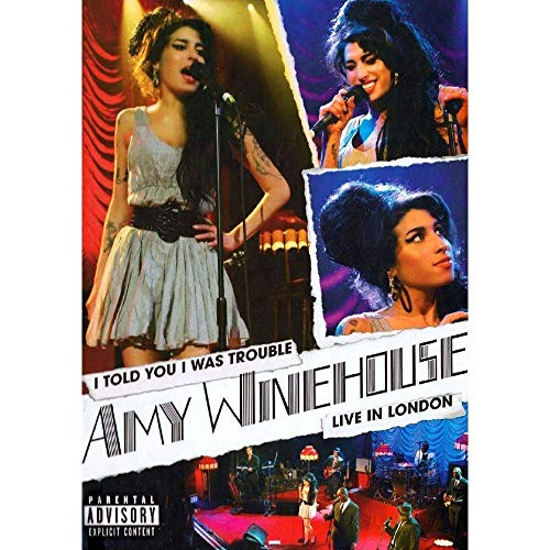 Amy Winehouse - I Told You I Was Trouble Live In London - [DVD]