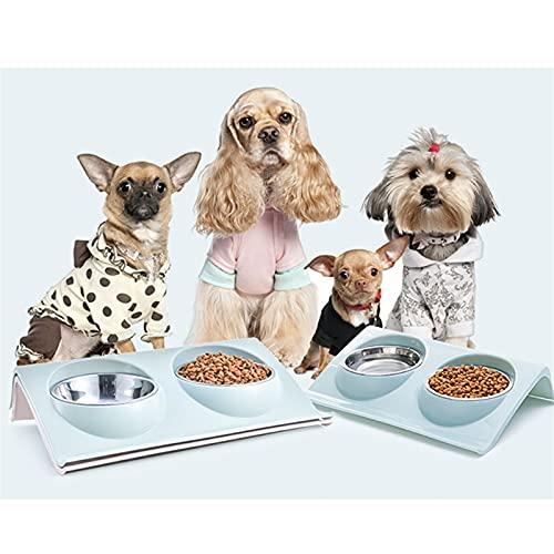 RVAXQ Pet Silica Gel Taper Perro Cat Cable COLLABLE COLLABLE Pet Pet Alimentos DE ALIMENTACIÓN Cuencos al Aire Libre Viaje portátil (Color : 3)