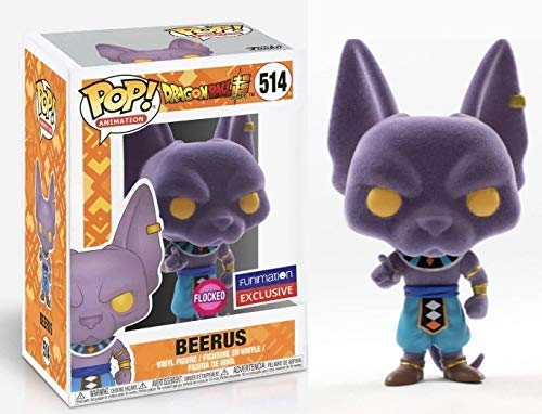 Funko Pop! Dragon Ball Z - Flocked Beerus #514 (Funimation Exclusive) image