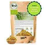BIO Hanfprotein aus Deutschland 1kg + Gratis Smoothie E-Book (PDF), DE-Öko-070, Vegan Protein aus Hanfsamen, Low Carb