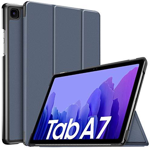 IVSO Hulle Kompatibel mit Samsung Galaxy Tab A7 104 2020 Schlank Slim Hulle Schutzhulle Hochwertiges PU mit Standfunktion Samsung Galaxy Tab A7 T505T500T507 104 Zoll 2020 Blau