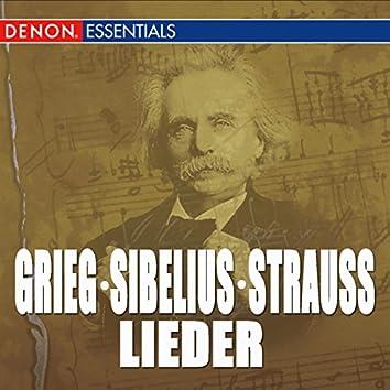 Grieg - Sibelius - Strauss: Lieder