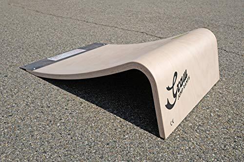 Graw Jump Ramps G20 PRO Rampa da Salto Professionale, Altezza 20 CM - per Skateboard, Monopattini, Pattini, RC e Altro