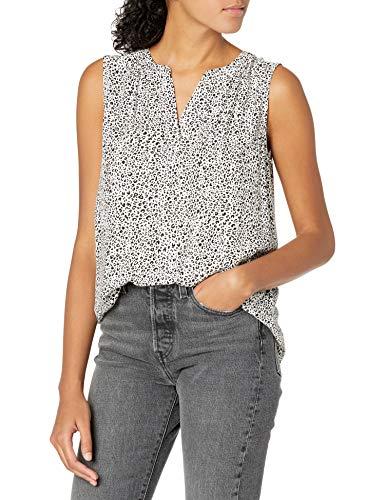Amazon Essentials Camiseta Sin Mangas Tejida Dress-Shirts Mujer