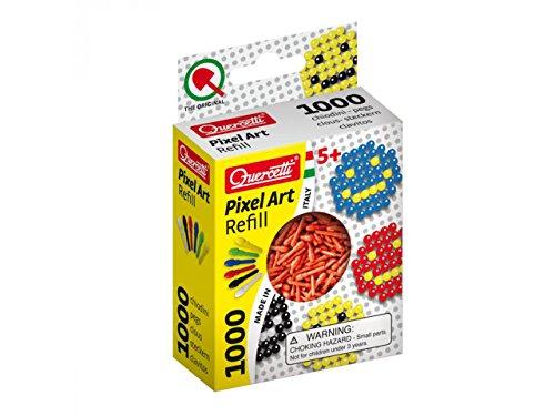 Quercetti Pixel Art Refill - 1000 Pegs - Red