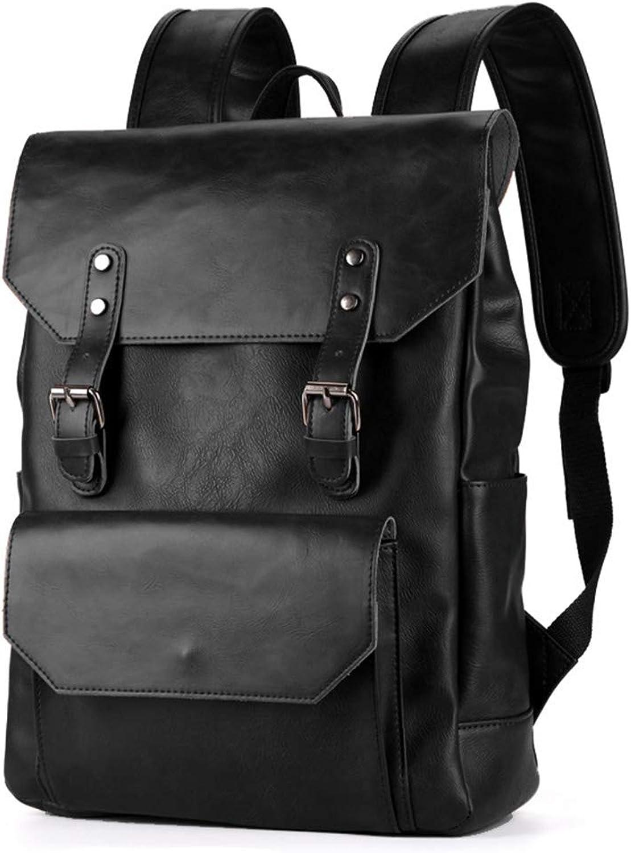 LHJ 12-Zoll-Laptop-schülerrucksack Tasche Im Retro-Stil Pu-Material Mit Verschleißfestem Verschleißfestem Verschleißfestem Wasserdichtem Rucksack B07LD865QD  Primäre Qualität 21f2af