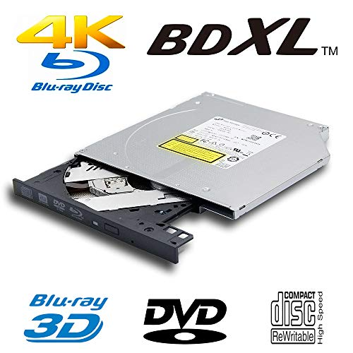 Pioneer BDR-211UBK 16x Internal Ultra HD 4K Blu-ray BDXL Burner Bundle with Cyberlink Software and Cable
