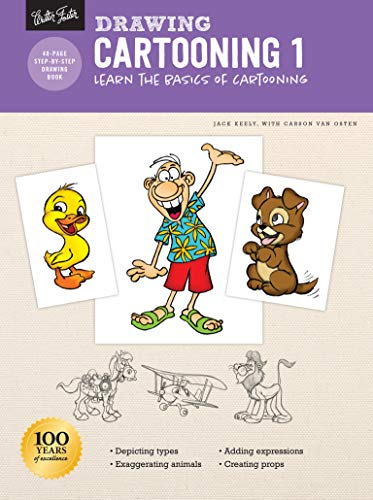 Drawing: Cartooning 1: Learn the basics of cartooning (How to Draw & Paint)