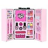 KAIXIN Kit de Juguete de Maquillaje para niños, Juego de Maquillaje para niños Kit de Juguete de Maquillaje Lavable para niños Set de Regalo cosmético Real Seguro y no tóxico para niños