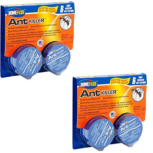 PIC Home Plus Ant Killer Child Resistant, 12 Cans Per Pack