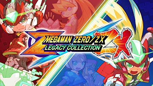 Mega Man Zero/ZX Legacy Collection - Switch [Digital Code]