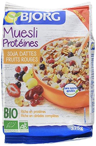 Bjorg Muesli aux Protéines Soja Bio 375 g