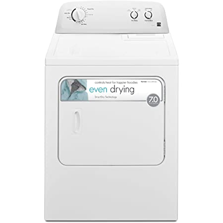 Kenmore 62332 7.0 cu. ft. Electric Dryer with Wrinkle Guard Total Capacity in White