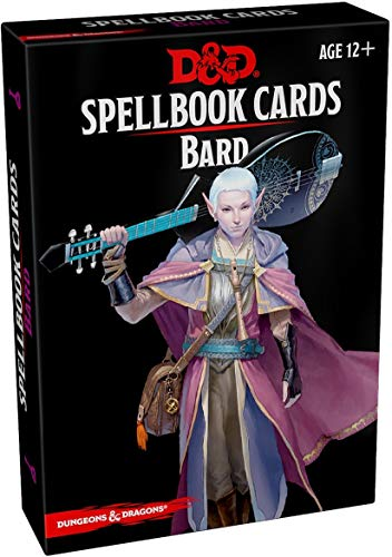 Spellbook Cards: Bard (Dungeons & Dragons)